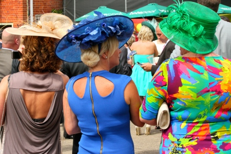 Fashionistas at Newmarket Racecourse