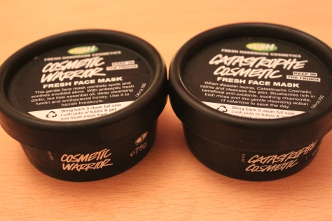 Cosmetic Warrior fresh face mask by Lush