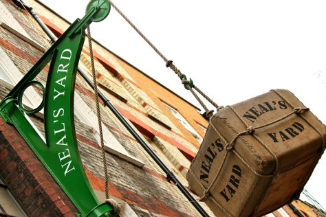 Neal's yard Covent Garden is a MUST place to hang out  if you are in London