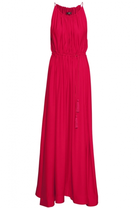 Red Satin Maxi Dress from H&M