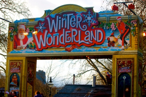 Winter Wonderland at Hyde Park, London
