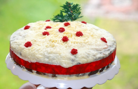 Christmas Cake no. 2-By moi