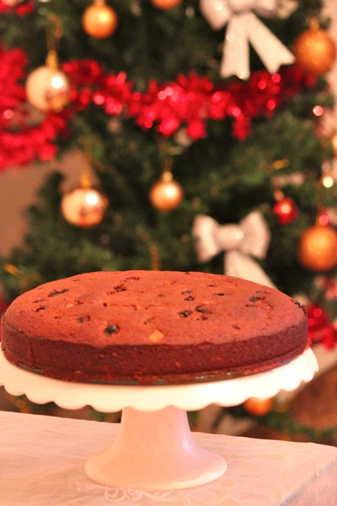 Christmas Cake no. 1- By moi