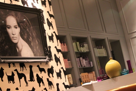 Andrew Barton's Covent Garden salon, voted the best London salon for the two consecutive years since 2012.