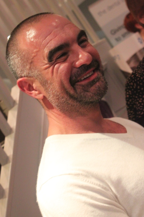 Ever smiling Andrew Barton, BAAF Patron and TV's favorite hairdresser