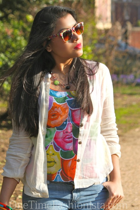 Jatra's Spring must-have blouse