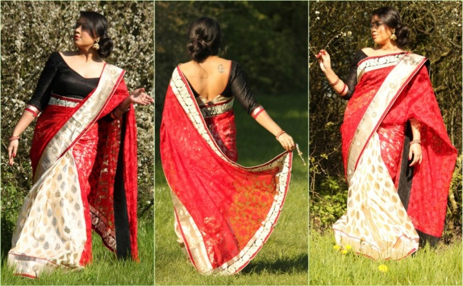 SareeSutra: Bengali New Year's look