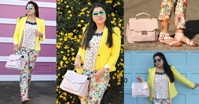 Clash of Floral Prints & Pastels