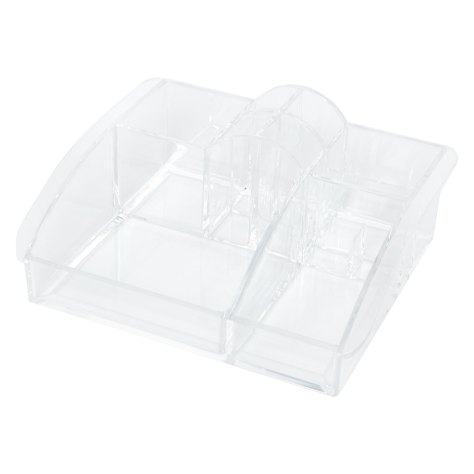 9 compartment cosmetic organiser