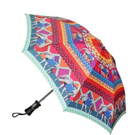Rangeen Hathi Walking Umbrella