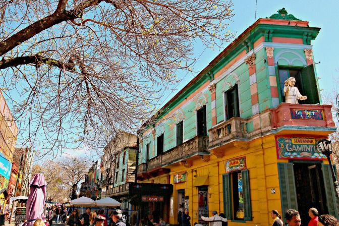 Counting The Colours In La Boca Argentina
