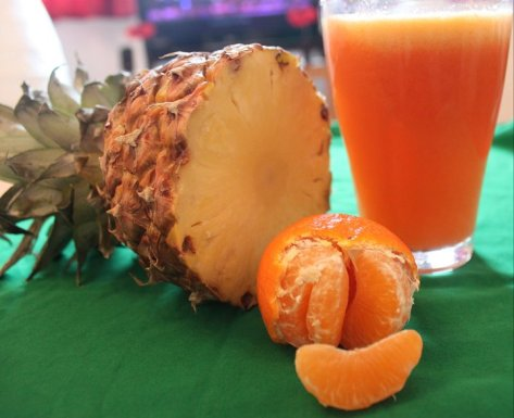 Orange- pineapple Juice