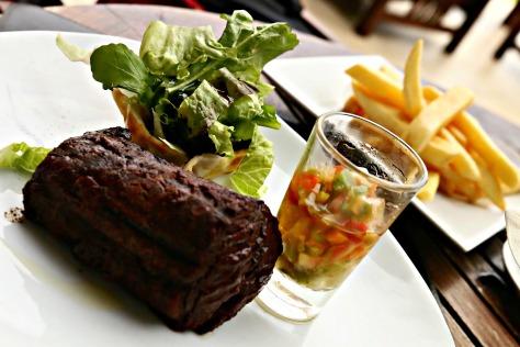 Argentine beef steak is the best in the world. Period.