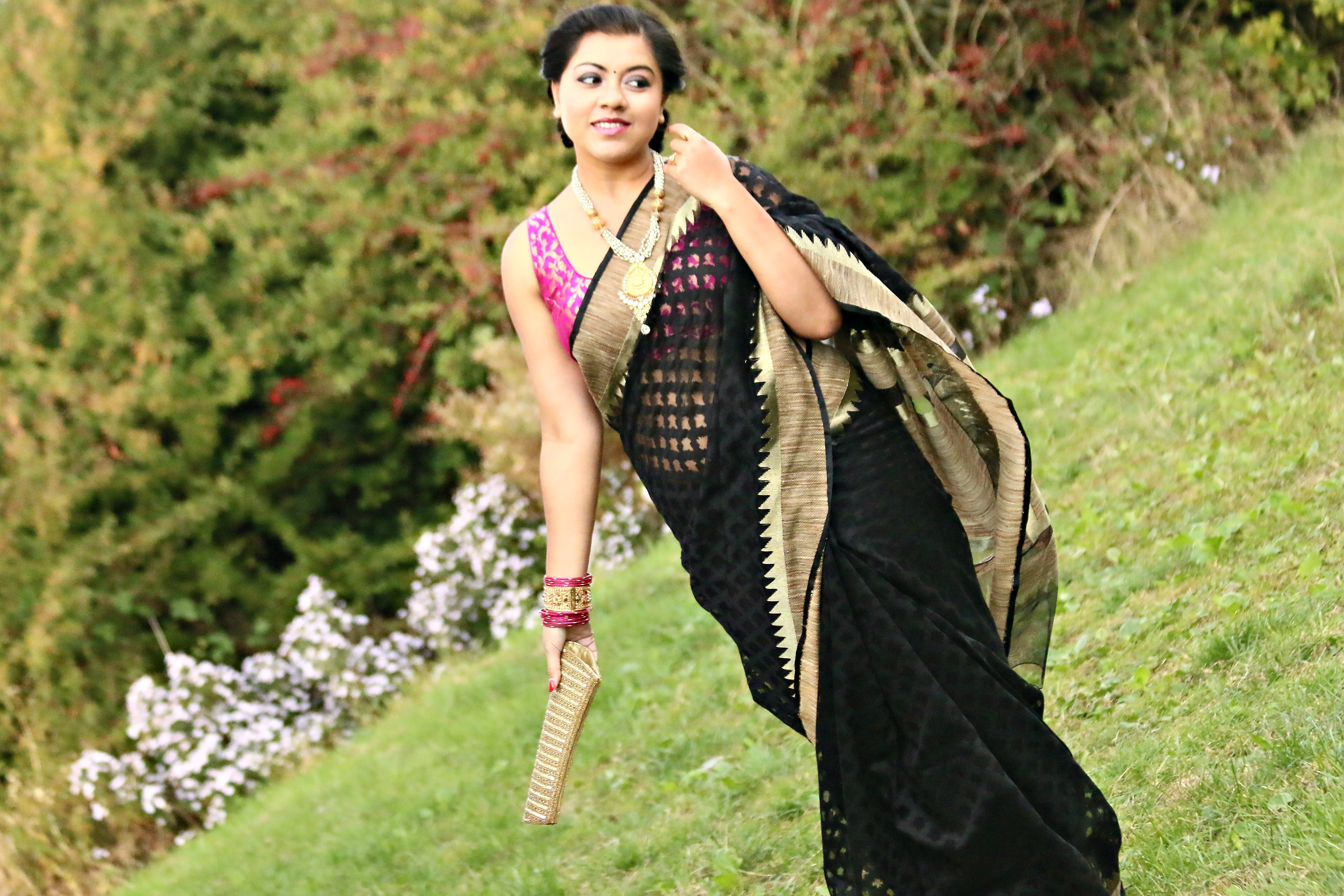 Bamboo Silk Sarees a Marriage of Bamboo Silk