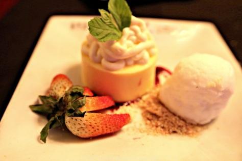 Dessert menu option: Two