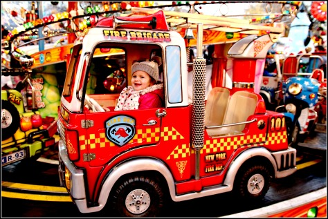 Children's rides: traditional rides, carousels, helter skelter and funhouses will delight the little ones.