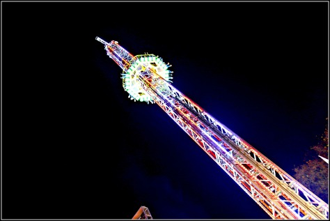 Get your adrenalin rising with the most daring rides around- Power Tower