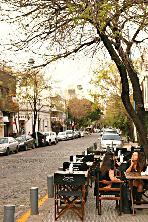Palermo's open air restaurants and cafes are worth your time! Its character continues to enhance the core of Buenos Aires