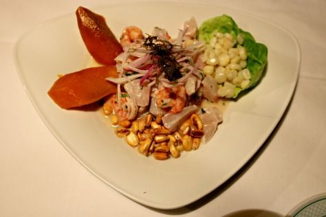 Peruvian Ceviche will make vegetarians change their mind, you bet!