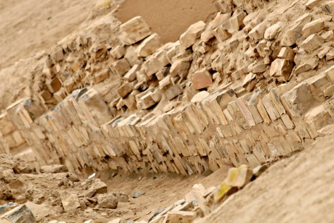 Pachacamac, the god of earthquakes, was a fearsome deity. In dubious fashion, he allowed his worshippers to see the past and future through an oracle