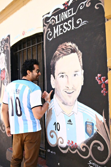 You can never miss Messi when in Argentina
