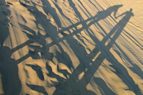 Leave your mark in sands of Huacachina desert