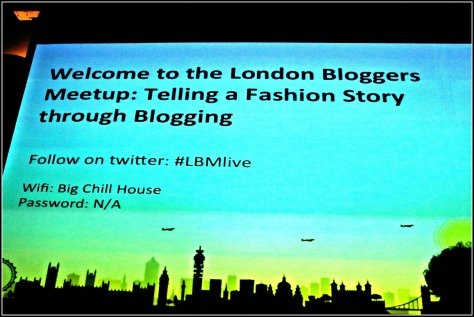 Lets talk fashion blogging at the London Bloggers Meetup