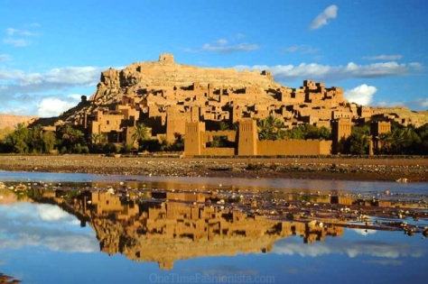 Ait Ben Haddou- a UNESCO world heritage site where several films have been shot