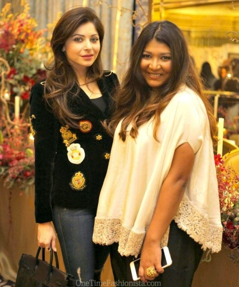 Aashni shah with British Asian singer Kanika Kapoor