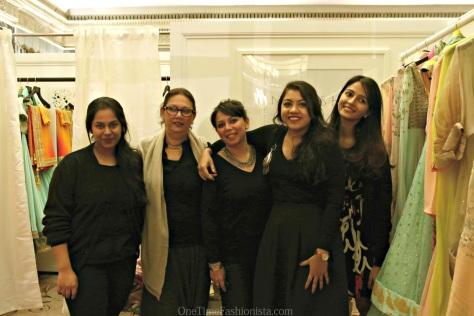 Team Nikasha at the Aashni + Co Wedding Show