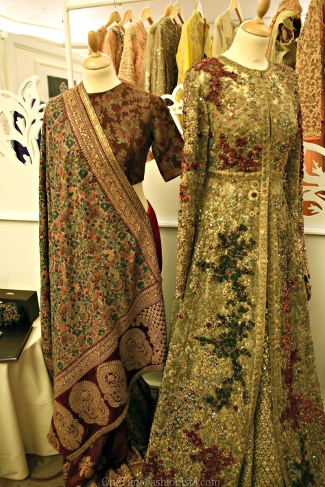 Exclusive traditional saree and Kalidar/gown by Sabyasachi