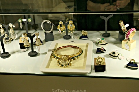 Exclusive Diamond and Gold jewelleries on display at the Jaipur Gems stall