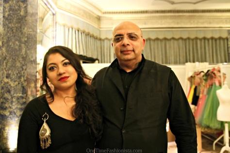 With designer Tarun Tahiliani