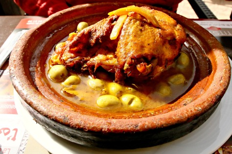 It's always chicken Tagine O'clock while in Morocco! Cooked in a clay pot of the same name, this classic dish is in my list of top 2 dishes from Morocco