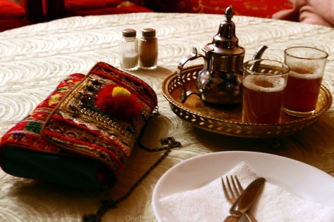 A glass of mint tea could wipe out the fatigue of driving for 5.5 hours and later walking around the Kasbah