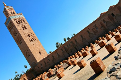 Koutoubia mosque and minaret ground, Marrakech