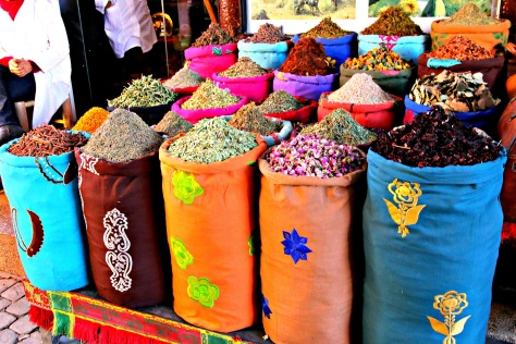 Nowhere is the fusion of Africa and Arabia that so characterizes Marrakech more apparent than in this vibrant, colourful, chaotic, ancient spice square.