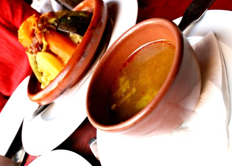 Harira is the most important soup in Morocco as it serves as the breaker of the fast. Traditionally served with couscous, Harira is considered as a traditional Berber dish, like couscous