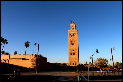 The Koutoubia Mosque  located by the Jemaa El Fna souq- from where the ride starts