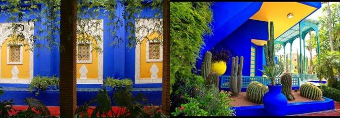 Vintage Glamour: Yves Saint Laurent's Jardin Majorelle in Marrakech