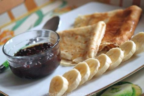 Weekend Breakfast With Pancake