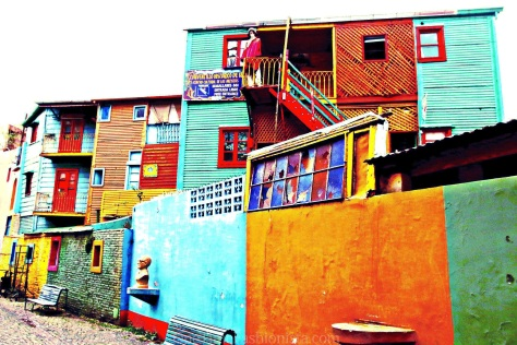 La Boca, the Buenos Aires' neighborhood famed for its colorful houses, its tango and its soccer team, is the one spot that makes every visitor's agenda.