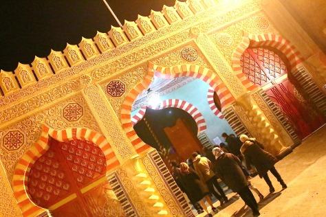 Fabulous Fantasia Show at Chez Ali Marrakech