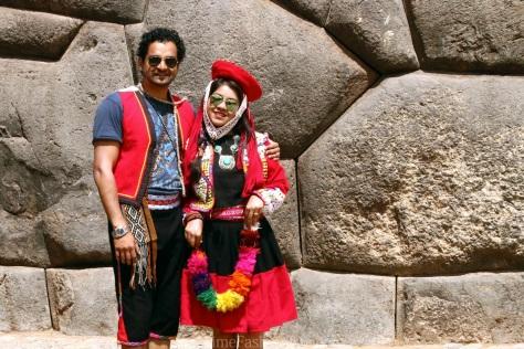 When Onetimefashionista dressed up like the Incas in Cuzco, Peru