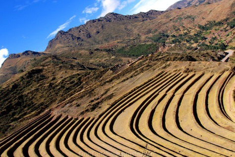 Tucked under the tawny skirts of formidable foothills, the beautiful Río Urubamba Valley, known as El Valle Sagrado (The Sacred Valley) is truly sacred