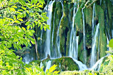 The Plitvice Lakes National Park, Croatia's most popular tourist attraction, was granted UNESCO World Heritage status in 1979.