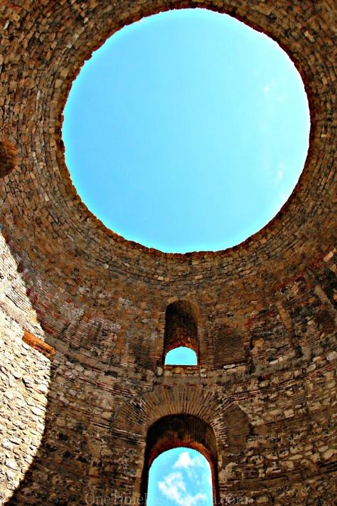Ruins of Salona in Trogir