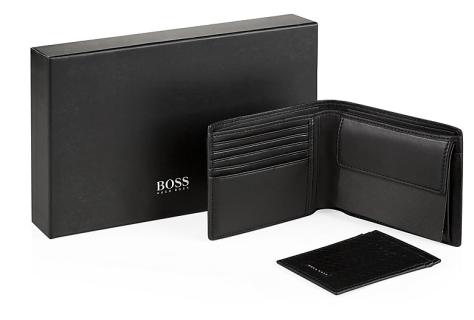 Hugo Boss Woven Wallet Gift Set