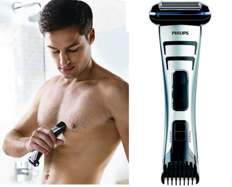 Philips body groomer