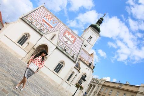 Zagreb's iconic St. Marks Church